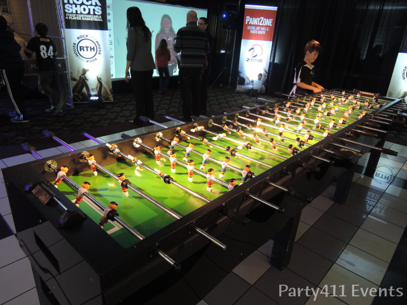 Game room party ideas